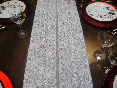 Lace Sunflower Table Runners (#1028) - Vintage Affairs - Vintage By Design LLC