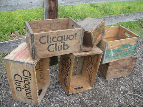 Vintage Shipping Crates - Vintage Affairs - Vintage By Design LLC