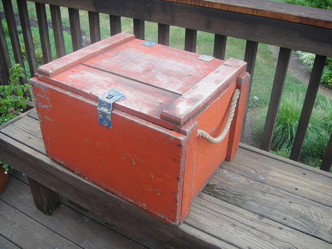 Vintage Red Crates - Vintage Affairs - Vintage By Design LLC