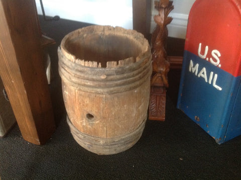 Small Old Moonshine Barrel