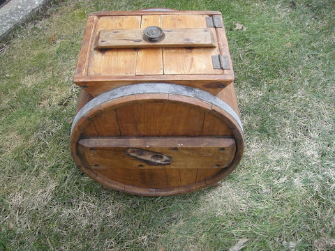 Wooden Butter Churn (#1057A)