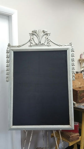 Shabby Chic Ornate Chalkboard (#1086K) - Vintage Affairs - Vintage By Design LLC