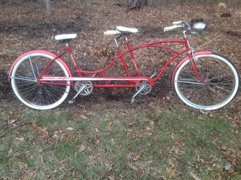 Vintage 1963 Huffy Tandem Bicycle
