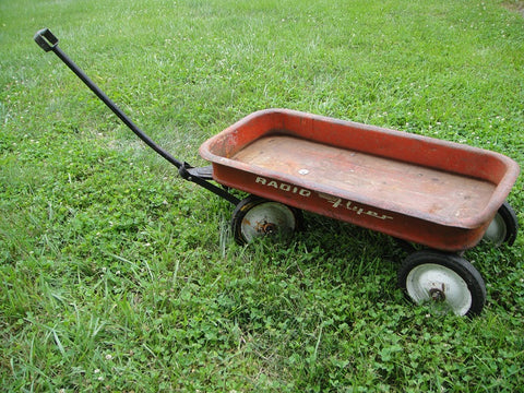 Radio Flyer Wagon - Vintage Affairs - Vintage By Design LLC