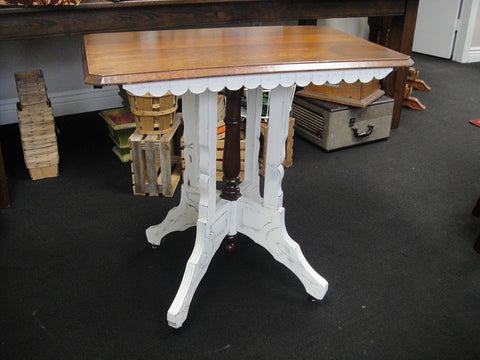 Eastlake Table (#1132) - Vintage Affairs - Vintage By Design LLC