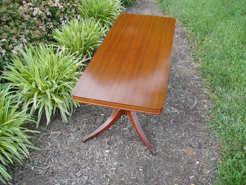 Antique Mersman Coffee Table (#1134J) - Vintage Affairs - Vintage By Design LLC