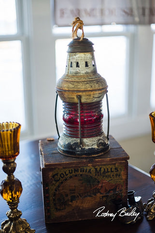 Old Ship Lantern - Vintage Affairs - Vintage By Design LLC