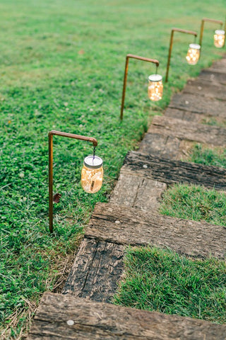 Mason Jar Path Lights (#1238)