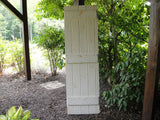 White Panel Barn Door (#1330) - Vintage Affairs - Vintage By Design LLC
