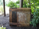 Pecan Dutch Barn Door (#1332) - Vintage Affairs - Vintage By Design LLC