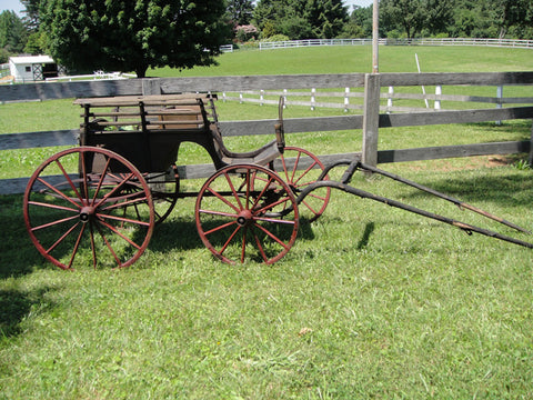 Amish Buggy - Vintage Affairs - Vintage By Design LLC
