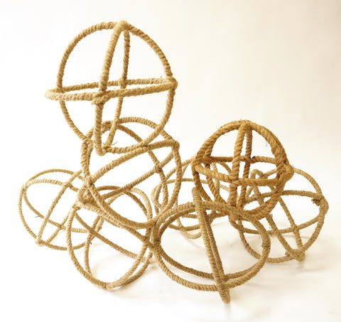 Geometric Rope Ornaments - Vintage Affairs - Vintage By Design LLC