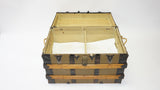 Antique Steamer Trunk with Rope Handles (#1018A)