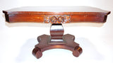 Cherry Wood Victorian Coffee Table (#1134D) - Vintage Affairs - Vintage By Design LLC