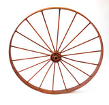 Red Iron Wagon Wheels (#1049) - Vintage Affairs - Vintage By Design LLC
