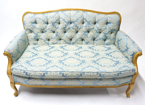 Little Blue Couch - Vintage Affairs - Vintage By Design LLC