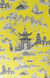 Yellow Chinoiserie Furniture Set - Vintage Affairs - Vintage By Design LLC