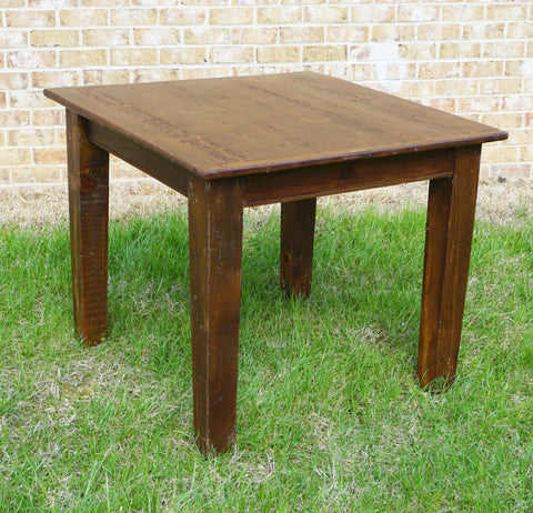 3' x 3' Farm Table (#1004) - Vintage Affairs - Vintage By Design LLC