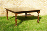 5' x 5' Farm Tables (#1002) - Vintage Affairs - Vintage By Design LLC