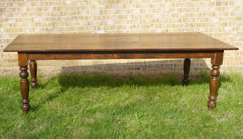 "8' x 42"" Farm Tables (#1001) - Vintage Affairs - Vintage By Design LLC"