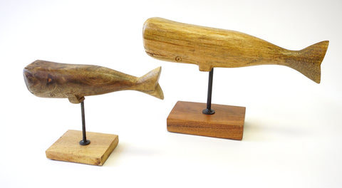 Wooden Whales - Vintage Affairs - Vintage By Design LLC