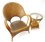 Wicker Furniture Set - Vintage Affairs - Vintage By Design LLC
