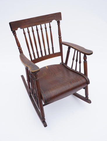 Wooden Rocking Chair - Vintage Affairs - Vintage By Design LLC