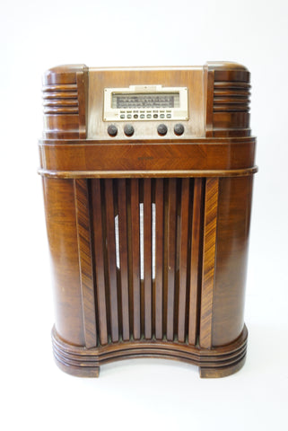 Antique Philco Radio - Vintage Affairs - Vintage By Design LLC