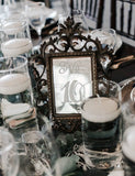 Table Top Numbers - Vintage Affairs - Vintage By Design LLC
