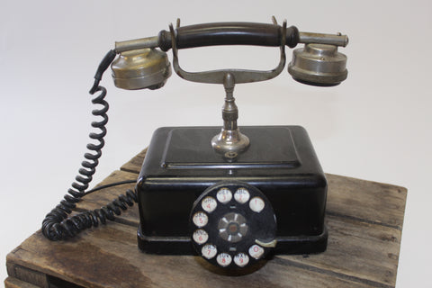 Vintage Western Electric Art Deco Telephone - Vintage Affairs - Vintage By Design LLC