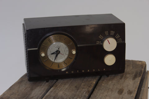 Antique Emerson Dashboard Radio (#1103) - Vintage Affairs - Vintage By Design LLC