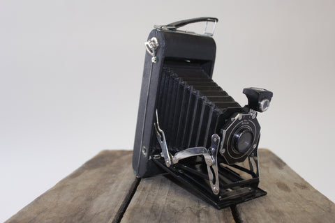 Vintage Folding Camera - Vintage Affairs - Vintage By Design LLC