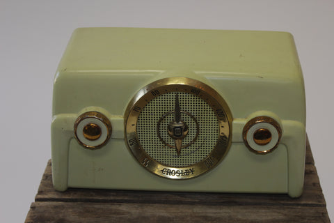 Antique Crosley Dashboard Radio (#1103A) - Vintage Affairs - Vintage By Design LLC