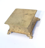 Gold Square Cake Stands