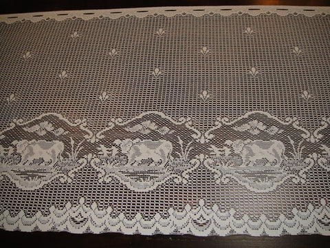 Lace Cows Table Runners (#1035)