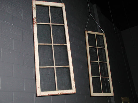 Eight Pane Wavy Glass Windows (#1302) - Vintage Affairs - Vintage By Design LLC