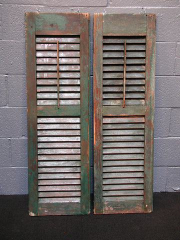 Green Shutters (#1309) - Vintage Affairs - Vintage By Design LLC