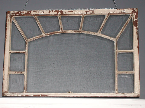 Decorative Window with Arch Detail 32″ x 48″ (#1300) - Vintage Affairs - Vintage By Design LLC