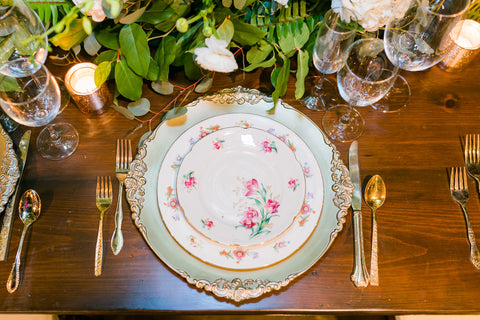 Mixed Vintage China - Vintage Affairs - Vintage By Design LLC