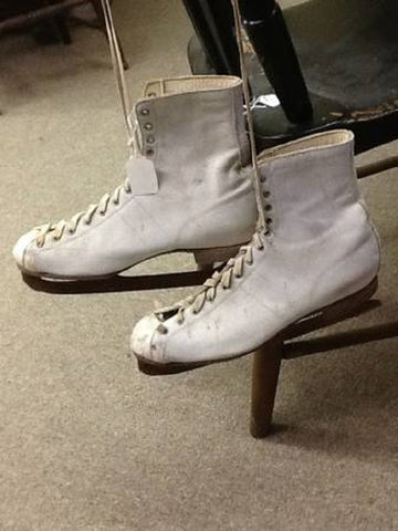 Vintage Ice Skates - Vintage Affairs - Vintage By Design LLC