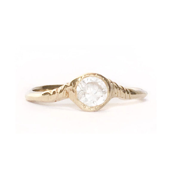 supreme star radiance ring by communion by joy alternative engagement ring