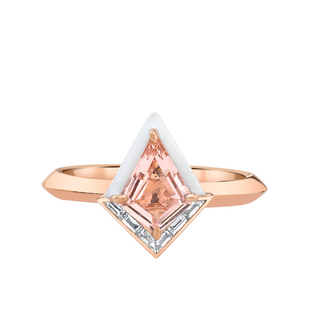 Top 10 Ethical Engagement Rings: The Best Alternative Conflict-Free Rings of 2021 Twinkle Ring by Emily P. Wheeler