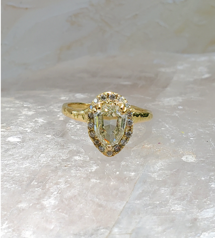 Top 10 Ethical Engagement Rings: The Best Alternative Conflict-Free Rings of 2021 Enchanted Shield Ring by Communion By Joy