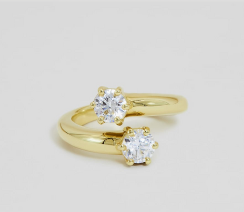 Top 10 Ethical Engagement Rings: The Best Alternative Conflict-Free Rings of 2021 The Yasmin Ring by Ceremony