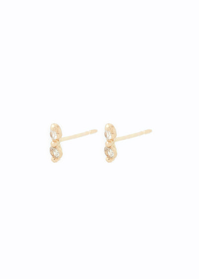 Elara Earrings, 2 Point