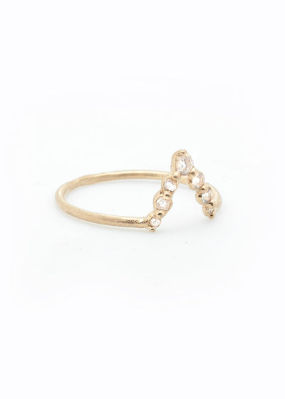 Rhea Ring - Valley Rose Ethical Fine Jewelry 14K Fairmined Gold