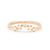 Rose Cut Diamond Stacking Ring