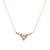 Grey Kite Rose Cut Diamond Pendant - Valley Rose Ethical & Sustainable Fine Jewelry