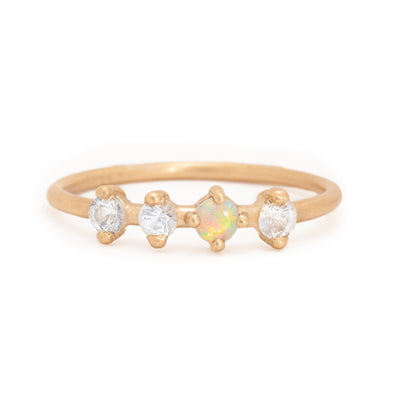 Phoebe Opal Ring - Valley Rose Ethical & Sustainable Fine Jewelry