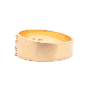 Scissa Cigar Band - Valley Rose Ethical & Sustainable Fine Jewelry